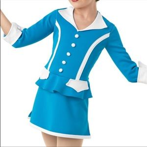 Pan am flight attendant dance costume Halloween